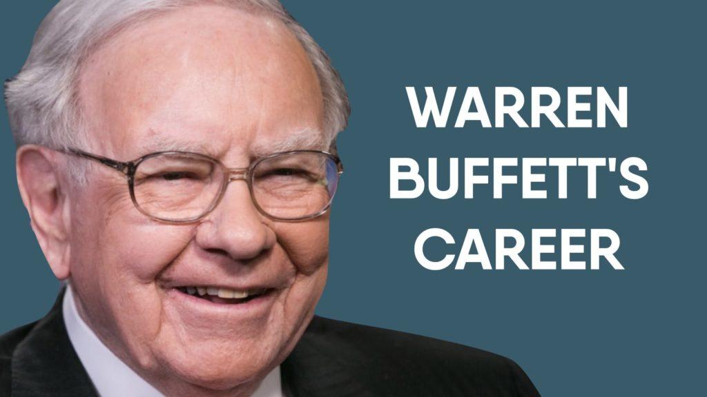 Warren Buffett'S Career