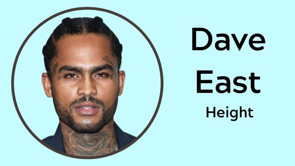 Dave East Height