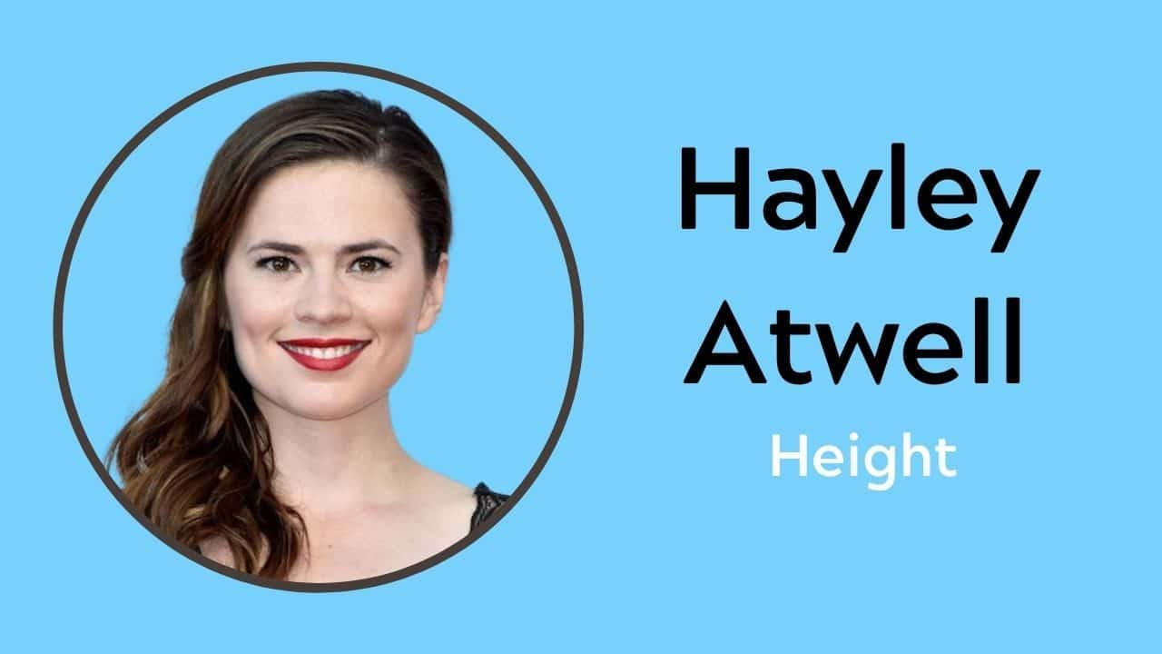 Hayley Atwell Height