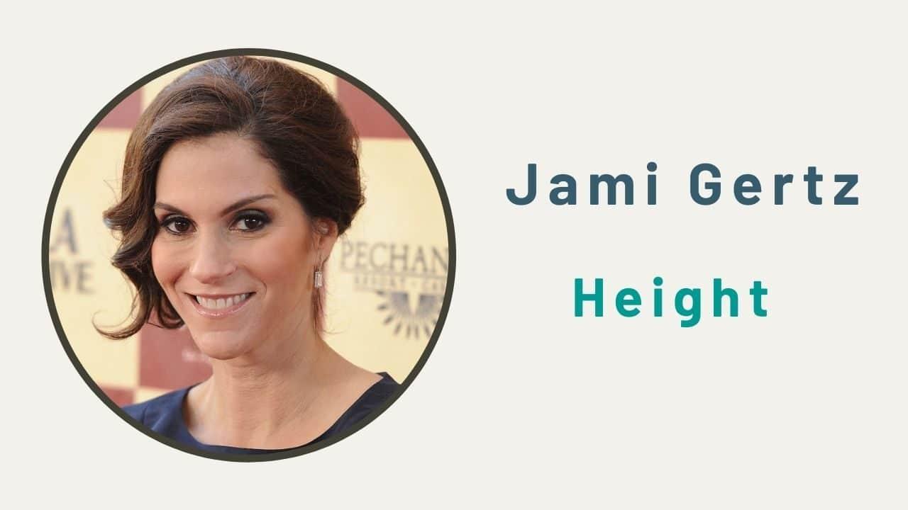 Jami Gertz Height