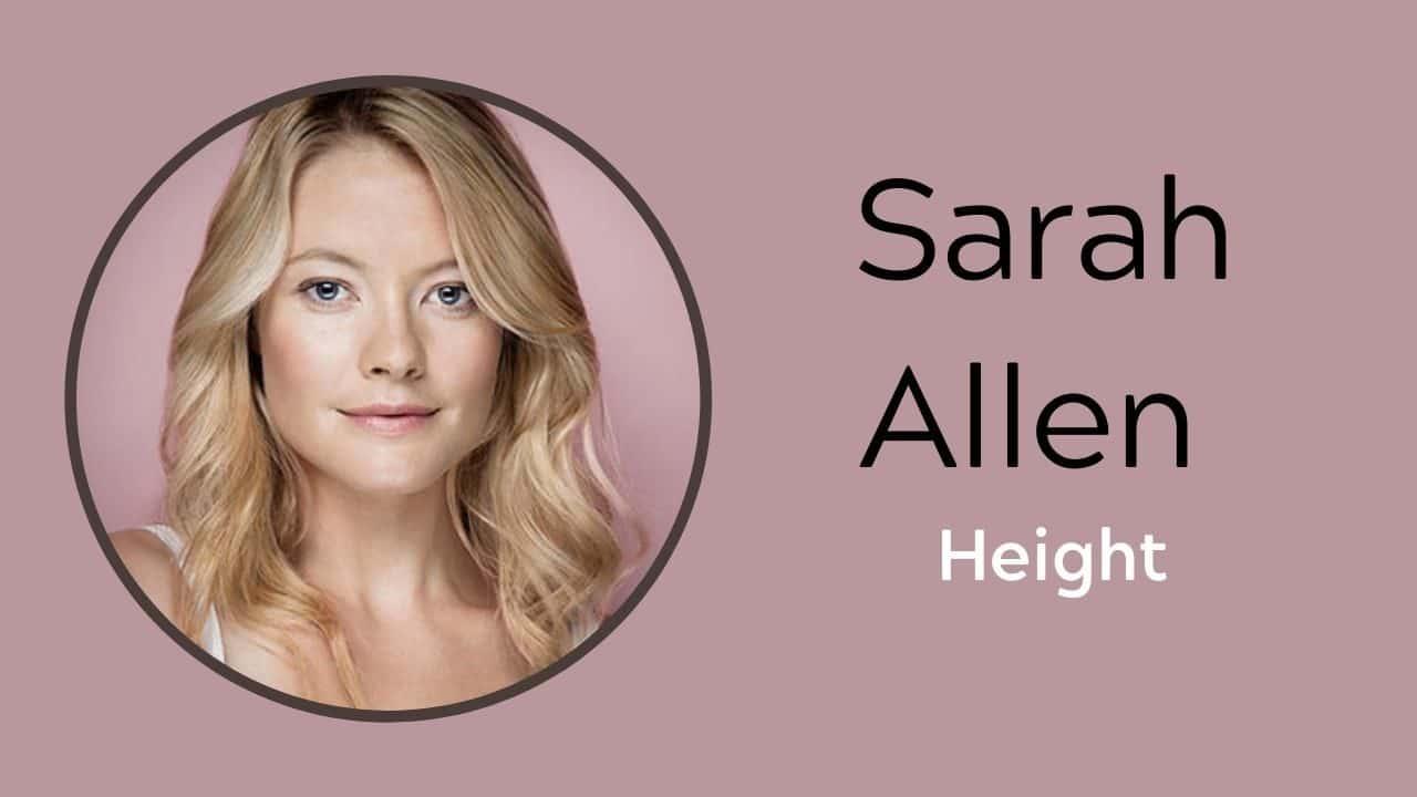 Sarah Allen Height
