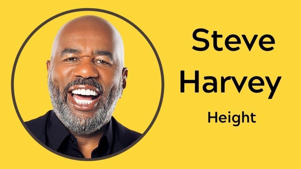 Steve Harvey Height