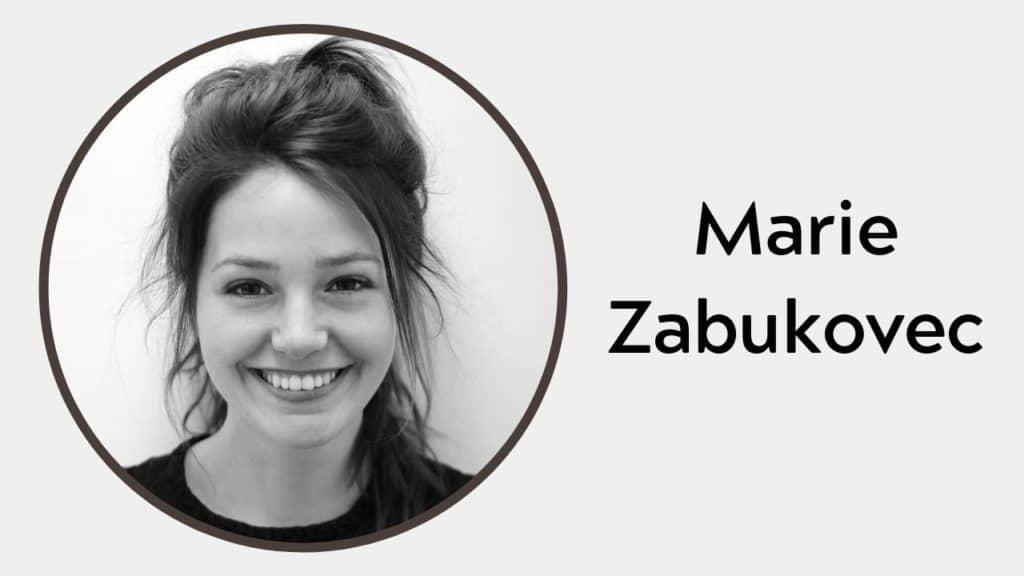 Marie Zabukovec Height